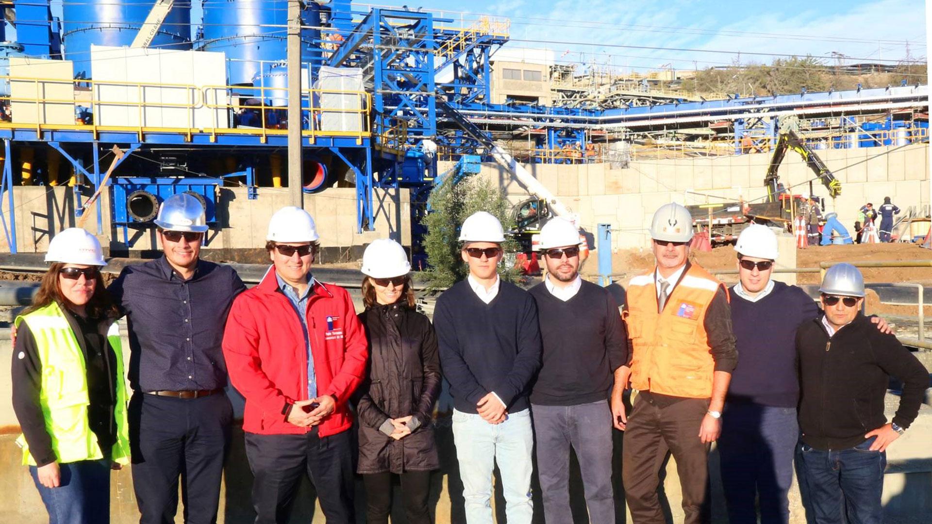 Delegación liderada por Subsecretario de Minería visita Minera Valle Central