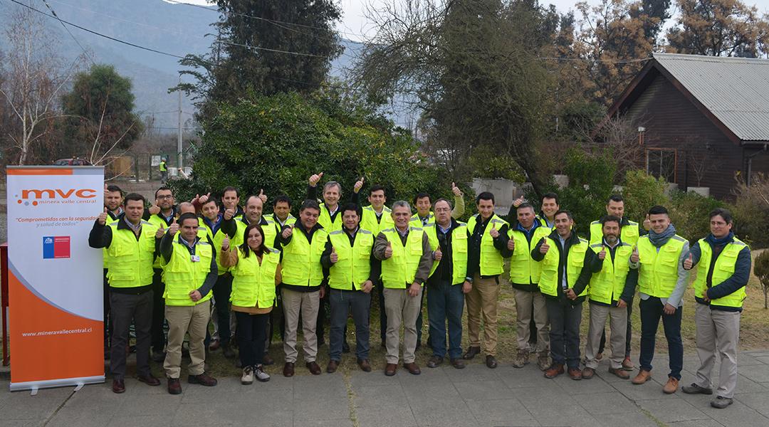 Minera Valle Central y SERNAGEOMIN lanzan Campaña 4 Principales Causas de Accidentes Fatales.
