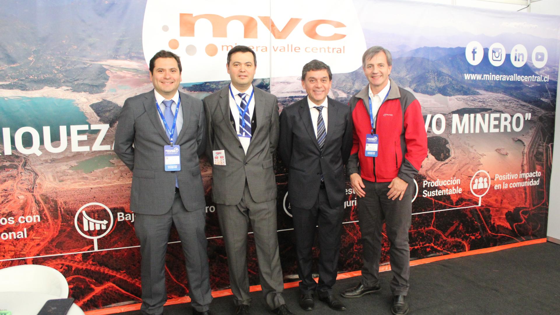 Minera Valle Central se posicionó como una de las mayores novedades de Exponor 2019.