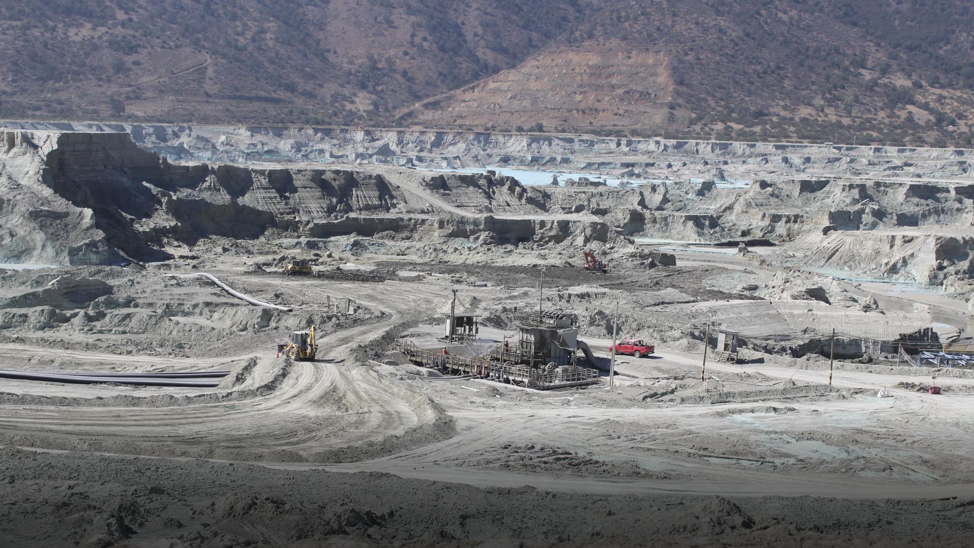 Subsecretario de Minería, Pablo Terrazas dio a conocer una nueva plataforma sobre relaves.