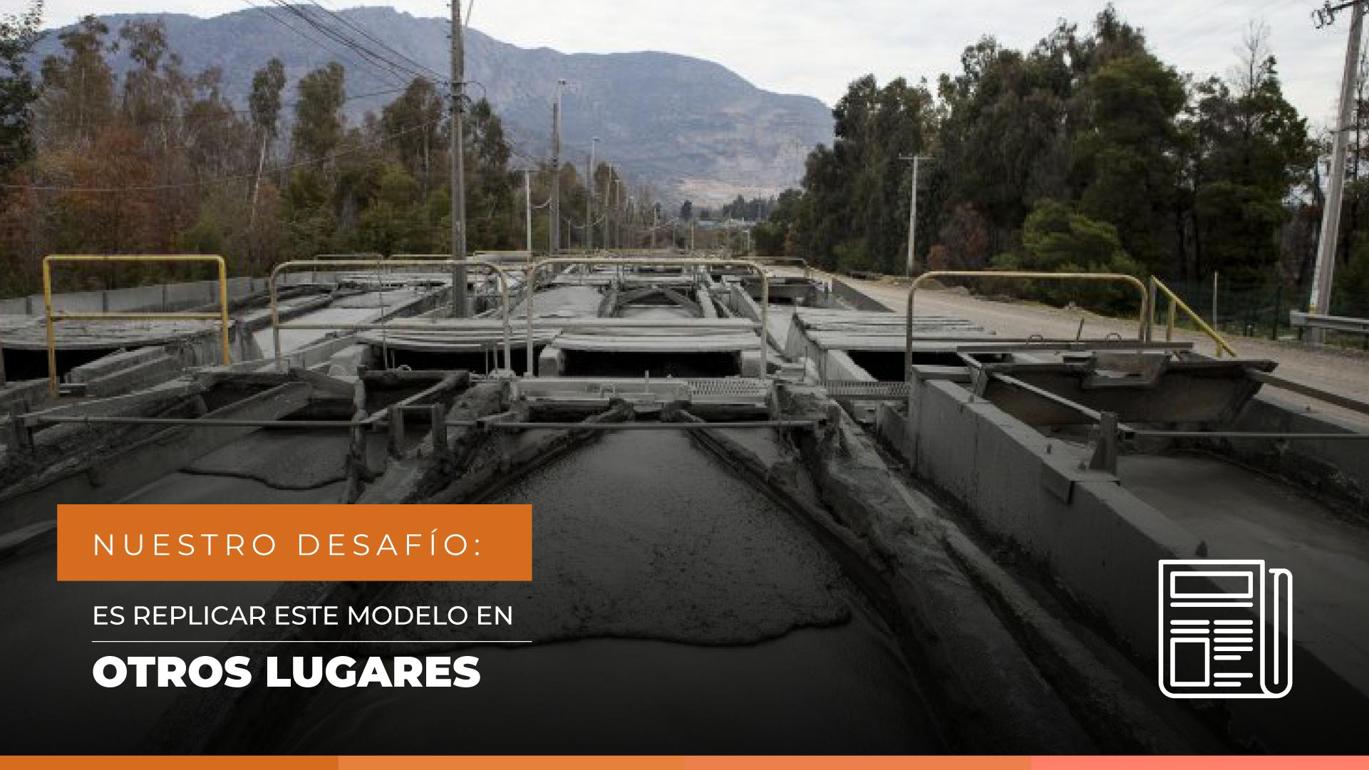 """Christián Cáceres, Gerente General de Minera Valle Central: """"El gran desafío es replicar este modelo en otros lugares"""""""
