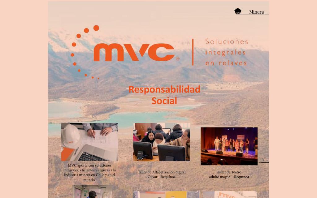 MVC RENUEVA IMAGEN CORPORATIVA Y LANZA OFERTA INTEGRAL EN RELAVES
